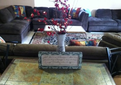 Canyon Vista Recovery Center Family Therapy Group Room