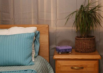 bedroom at Canyon Vista Recovery Center
