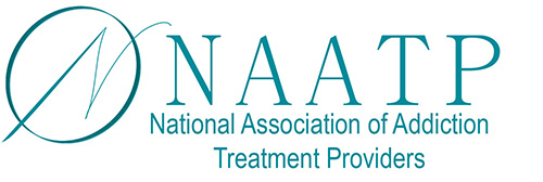 NAATP logo - member of NAATP National Association of Addiction Treatment Providers