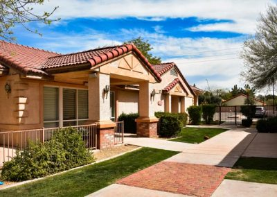 outside view - Canyon Vista Recovery Center - Arizona inpatient alcohol treatment