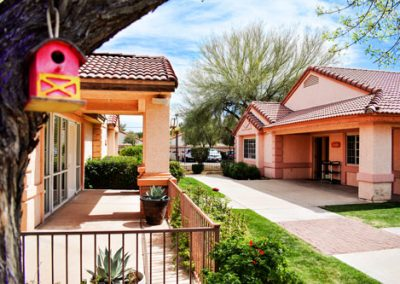 Bird house at Canyon Vista - Canyon Vista Recovery Center - alcoholism treatment in Arizona