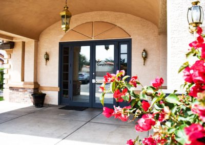 front entrance - Canyon Vista Recovery Center - alcohol addiction treatment in Arizona